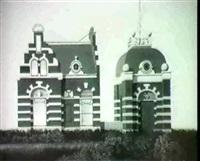 het sluiswachtershuis in de lemmer,het geboortehuis van de schilder by barend blankert