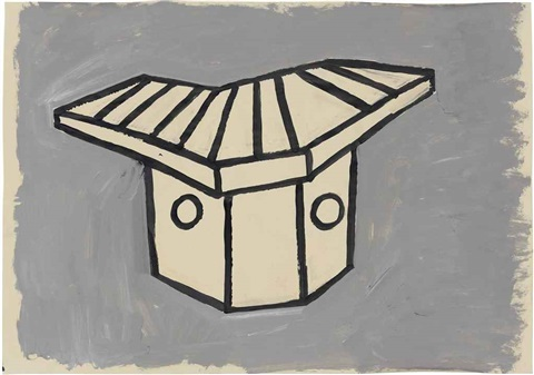 untitled shelter by phyllida barlow