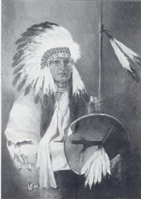 untitled (chief and shield) by nicholas semovskikh