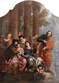 la sainte famille et sainte anne by jan erasmus quellinus