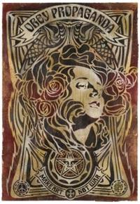art nouveau by shepard fairey