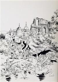 illustration originale ayant servi pour l'affiche by dany