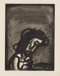 jésus honni by georges rouault