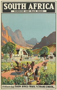 south africa/sunshine and blue skies by charles e. peers