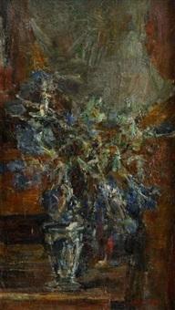 les chardons rouges by leon lehmann