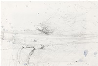 study for buzz saw (doug young's hook) by andrew wyeth