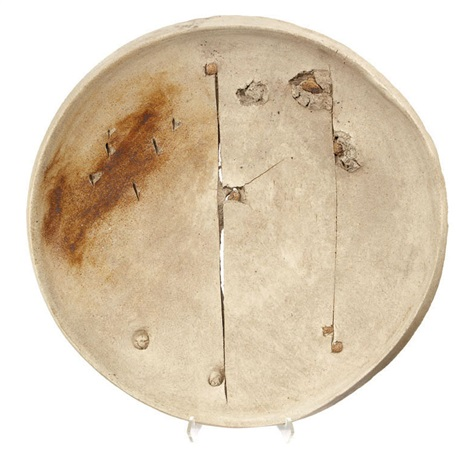 untitled (plate) by peter voulkos
