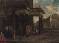 christ at the pool of bethesda by niccolò codazzi