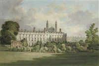 clare hall, cambridge by henry sargent storer