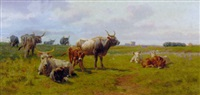 in the roman campagna by otto weber