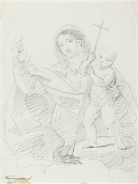 the virgin and child (+ 4 others; 5 works) by arcangelo foschini