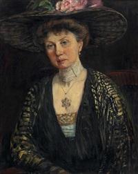 frau oberbaurat helene mayr (geb. ziegler 1874) by elisabeth weber-fülöp
