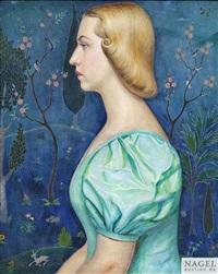 porträt irene chaplinska by dimitru v. ismailovitch