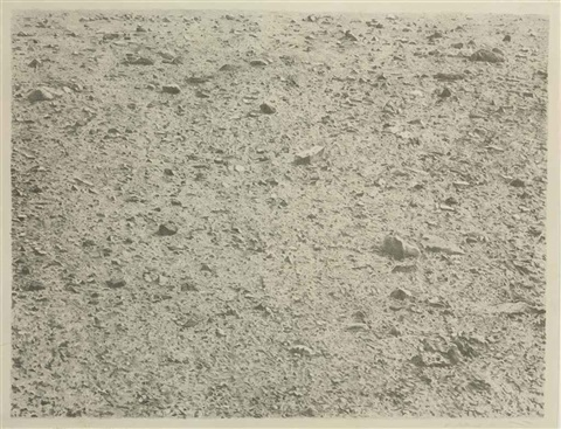untitled desert by vija celmins