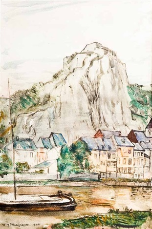 the citadel of dinant by william yorke macgregor