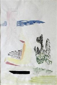 face in landscape by alois wachsman