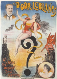 the d'oor leblancs - la plus belle merveille des temps modernes by posters: circus