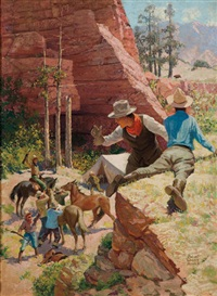 hunting wild bear by robert wesley amick