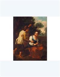 coppia di bambini by antonio mercurio amorosi