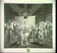 der aktsaal der kaiserlichen akademie in wien        (nagler 3/ii; le blanc 18/ii; heller-andresen 6/iii) by johann jacobe