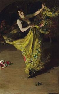 le danseur by andré louis maxime humbert