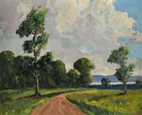 road to lough neagh by william jackson