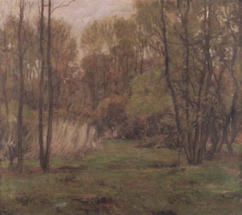 An Indiana forest landscape by Robert Wadsworth Grafton on artnet
