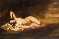 reclining nude by antony serres
