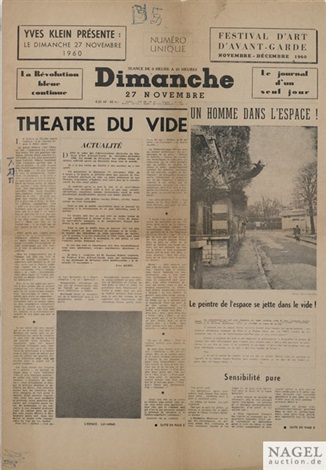 dimanche by yves klein