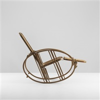 rocking chaise (model 267) by antonio volpe
