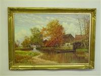 autumn landscape by hans liebl