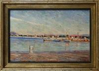 bord de mer à quiberville by raymond allègre