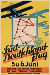 sud-deutschland flug (by morano0 by posters: propaganda