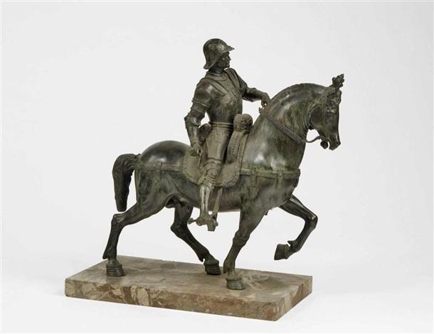 reiterbildnis des condottiere bartolomeo colleoni by andrea del verrocchio