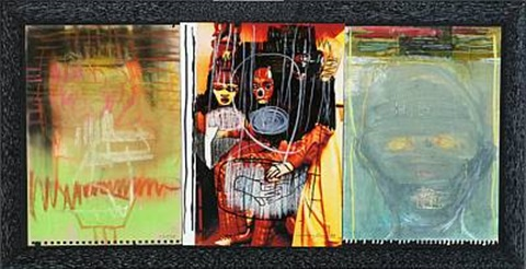 dream 2 works in 1 frame 3 works by cathrine raben davidsen