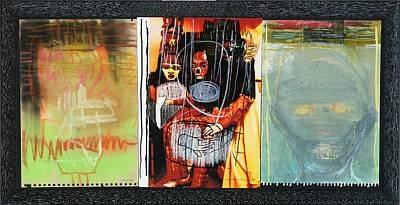 dream 2 works in 1 frame 3 works by cathrine raben davidsen