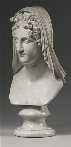 bust of beatrice by antonio canova
