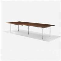 extension dining table, model at321 by hans j. wegner