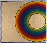 teppich regenbogen by herbert bayer