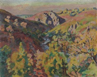 vallée de la sedelle by armand guillaumin
