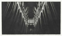 study for north cathedral by robert longo