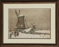 windmills by t. frantisek simon