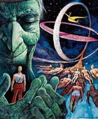 copertina per gli albi (ed. cronologica) delle avventure di brick bradford by gianni de lucca