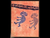 le mirivis des naturgies (bk by andré martel w/16 works) by jean dubuffet