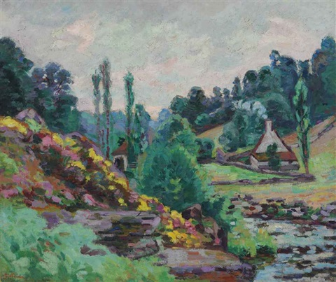 le moulin de jonon creuse by armand guillaumin