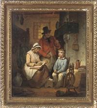 evening lessons by jean baptiste van eycken