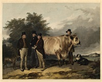 scene at wiseton by william henry simmons