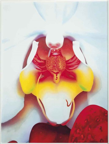 plate three from portraits of landscapes by marc quinn