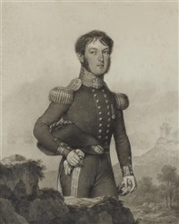 portrait of captain william fordyce blair by domingos antonio de sequeira