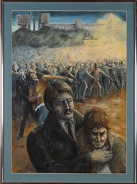 kellingley colliery miners strike by marjorie arnfield